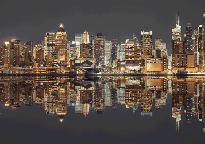 New York Skyline At Night 1500 Bitar Schmidt
