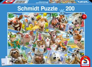 Animal Selfies 200 Bitar Schmidt
