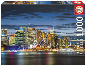 Sydney City Twilight   1000 Bitar Educa