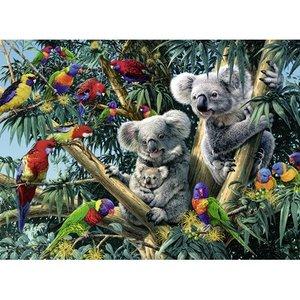 Koalas in a Tree  500 Bitar Ravensburger