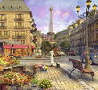 Vintage Paris 1500 Bitar Ravensburger