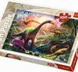 Dinosaurs land 100 Bitar Trefl