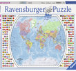 Political World Map 1000 Bitar Ravensburger