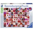 99 beautiful red things 1500 Bitar Ravensburger
