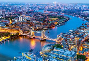 Aerial view of London 1000 Bitar Castorland