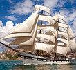 Tall Ship Leaving Harbour   500 Bitar Castorland
