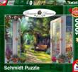 View of the Enchanted Garden 1000 Bitar Schmidt