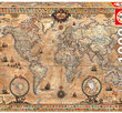 Antique World Map 1000 Bitar Educa