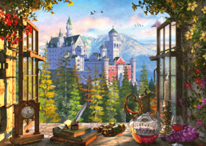 View of the fairytale castle 1000 Bitar Schmidt