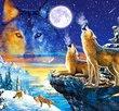Howling Wolves 1000 Bitar Castorland