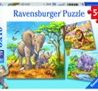 Wild Animals 3x49 Bitar Ravensburger