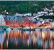 Bergen Norwegen 1000 Bitar Ravensburger