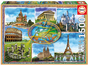 Seven Wonders of Europe   1500 Bitar Educa
