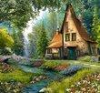 Toadstool Cottage 2000 Bitar Castorland