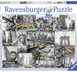 New York Cabs 1500 Bitar Ravensburger