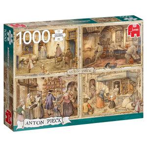 Bagare på 1800-talet 1000 Bitar Jumbo