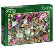 Floral Cats 1000 Bitar Jumbo