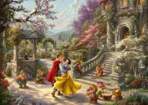 Snow White Dancing in the Sunlight 1000 Bitar Schmidt