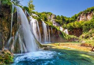Land of the falling lakes 1000 Bitar Castorland